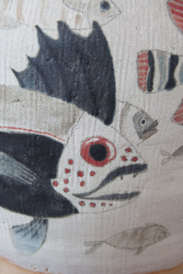 Detalle de jarrón pintado